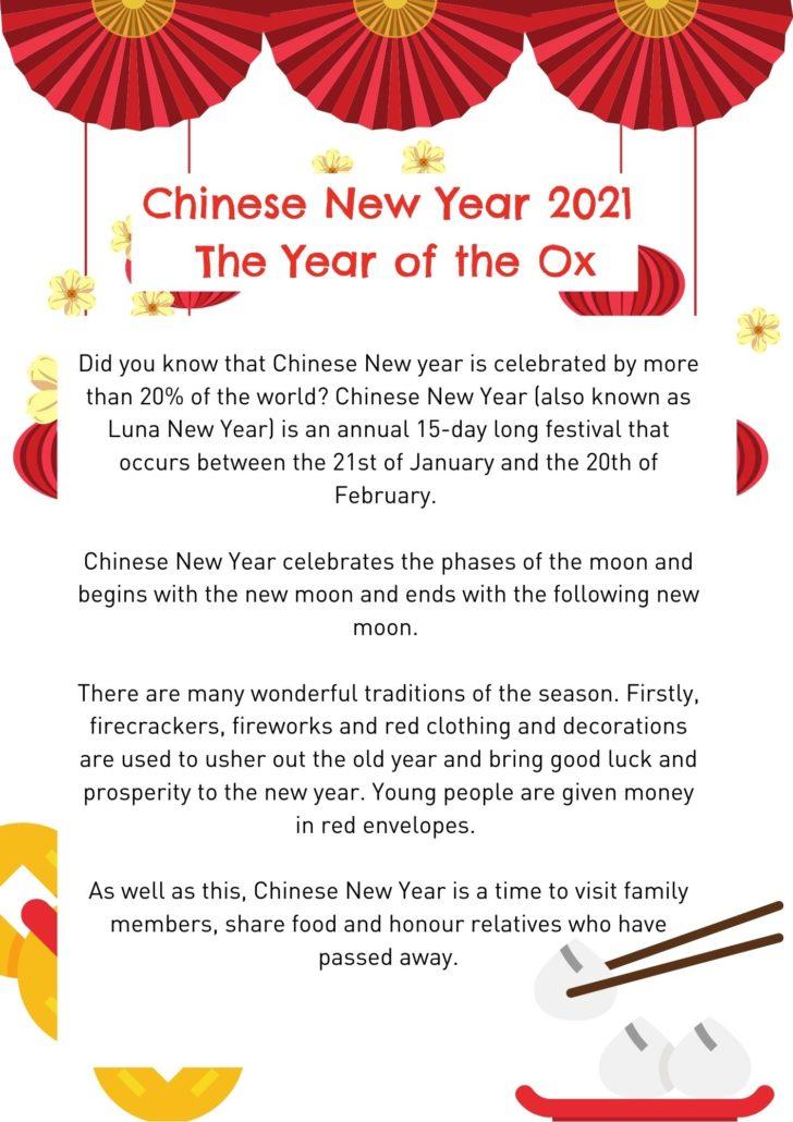 Chinese New Year Resource